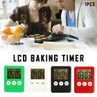 Large Digital LCD Kitchen Cooking Timer Count-Down Up Clock Alarm Magnetic US