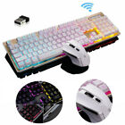 2.4g Wireless Led Backlit Game Keyboard + Mouse Combo For Computer Pc Ps4