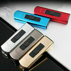mini usb windproof flameless arc plasma lighter electronic cigarette lighter