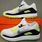 Nike Air Zoom 90 IT Golf Shoes Womens Size Spikeless Cleats White Black Green