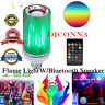 E27 8W LED Flame Light Bulb Burning Fire Effect Party Lamp W/Bluetooth Speaker