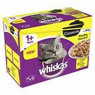 Whiskas Casserole 1+ Poultry Cat Food in Jelly Wet