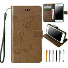 Leather Wallet Card Slots Lanyard Flip Case Cover For iPhone X 8 7 6 6s Plus 5