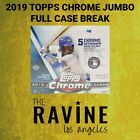 2019 Topps Chrome JUMBO 8 Box Full Case Break Pick Your Own Team 40 AUTOGRAPHS! on Ebay