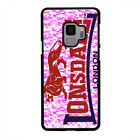 LONSDALE PINK CAMO LOGO Samsung Gal Note S5/6/7/8/9/Edge/+ Phone Case Cover