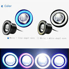 "2.5"" inch Car Fog Light Lamp COB LED Projector Halo Angel Eyes Rings DRL Wh/Bl $15.99 USD on eBay"