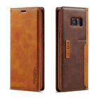 For Samsung Galaxy S10 S9 S8+ Note10+/9 Magentic Wallet Case Leather Flip Cover
