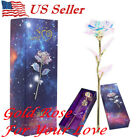 Kyпить Galaxy Rose Flower Valentine's Day Lovers Gift Romantic Crystal Rose With Box US на еВаy.соm