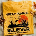 Great Pumpkin Believer Since 1966 Snoopy Charlie Brown Halloween Shirt