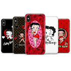 Betty Boop Cute Retro sexy Hearts Classy lady Phone case cover fit for iPhone 11 £6.49 GBP on eBay