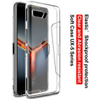 IMAK Clear Shockproof Silicone TPU Case For ASUS ROG Phone II Zenfone 6 ZS630KL