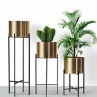 Stainless Steel Metal Flower Pot Flower Stand Wrought Iron Decor Flower Rack