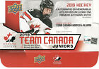 2019 UD TEAM CANADA JUNIORS BASE & PROGRAM OF EXCELLENCE FREE COMBINED SHIPPING on eBay