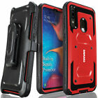 For Samsung Galaxy A20 A30 A50 Armor Holster Case Belt Clip Cover COVRWARE Aegis