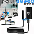 US 1/3/5M 8 LEDs Wireless Endoscope WiFi Borescope Inspection Camera For Huawei