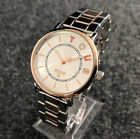 New Bear Watch Women Stainless Steel Watches Color Crystal Wrist Watches Jewelry image
