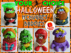 McDonald's 1996 McNUGGET BUDDIES Halloween NUGGET Buddy Costume YOUR Toy CHOICE