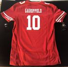 Nike NFL San Francisco 49ers Jimmy Garoppolo Womens Red Game Jersey 469915-616 $34.99 USD on eBay