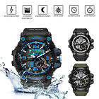 SMAEL Watch Waterproof Men Sport Watches LED Digital Outdoor Military Wristwatch image
