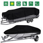 11-24ft Waterproof Heavy Duty Boat Cover Pontoon V-Hull Fish Ski Bass Runabouts