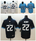 Men's Tennessee Titans #22 Derrick Henry Blue/Navy New 2018 Game Jersey Sewn $54.99 USD on eBay