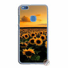 Sunflower summer Flower hard case cover for Huawei P10 P20 P30 pro mate 20 10 Y9