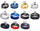 Anaheim Ducks National Hockey Team Logo Tungsten Carbide Ring Full Tungsten $30.99 USD on eBay