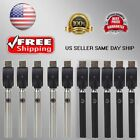 100 510 Pen Battery  USB Charger Variable Voltage Oil Thread - US SELLER SAME D