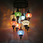 Woodymood Ceiling Mosaic Lamp 9 Ball, Moroccon Lamps $199.9 USD on eBay