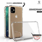 For New iPhone 11 11 Pro Max Clear Gel Case Tempered Protector Cover Hybrid