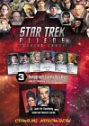 Star Trek Aliens Auto Stickers Quotable Klingon First Appearances trading cards on eBay