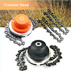 Coil 65Mn Chain Trimmer Head Brushcutter Garden Grass Trimmer For Lawn Mower
