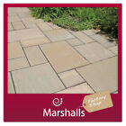 NATURAL SANDSTONE PAVING SLABS  MARKETSTONE COLOUR OPTIONS MIN ORDER 3 PACKS