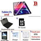 10.1 inch tablet PC 3G/4G Android 9.0 Octa Core Super tablets Ram 6G ram+128G