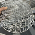 Barbecue Round BBQ Grill Net Meshes Racks Grid Round Grate Steam Net Mesh Wire