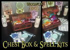 WICCAFLIX Wooden Gift Set Chest Box Spell Kit Wicca Pagan Witchcraft BOS Yule