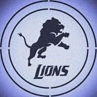 DOUBLE CIRLCE DETROIT LIONS W/ TEAM NAME STENCIL SPORT FOOTBALL STENCILS $14.74 USD on eBay