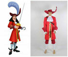 Hot! Captain Hook uniform cosplay costume Costume Dress