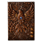 1pc Embossed Retro Notebook Journal Diary Sketchbook PU Leather Cover Blank Page