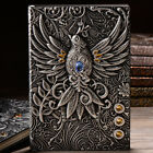 Kyпить 1pc Embossed Retro Notebook Journal Diary Sketchbook PU Leather Cover Blank Page на еВаy.соm