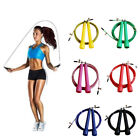 Adjustable  Fitness Accessories Skip Rope ABS Handle  Steel Wire Jump Ropes image