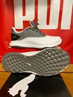 NEW PUMA GRIP FUSION GOLF SHOES - WHITE/QUIET SHADE/BLACK - CHOOSE SIZE