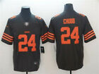 Men's Cleveland Browns #24 Nick Chubb Color Rush Vapor Stitched Jersey $54.99 USD on eBay
