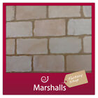 BLOCK PAVING NATURAL STONE BUFF BROWN MULTI TUMBLED 40-60MM  8M2 MIN ORDER 5 PKS