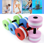 Water Weight Workout Aerobics Dumbbell Aquatic Barbell Fitness Swimming US Stock image