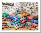 Colorful Coffee Bags Art Print Home Decor Wall Art Poster - C