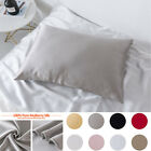 100% Mulberry Silk Fabric Pillow Case Cover  Super Soft Standard/Queen/King 1pcs image