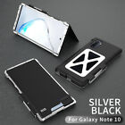 For Samsung Galaxy S8 S9 S10 Note 10 Plus Heavy Duty Metal Shockproof Armor Case