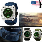 INFANTRY Mens Sport Tactical Military Digital Date Chronograph Wrist Watch US image