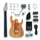 Unfinished DIY Electric Guitar Kit Set LP/ST/TL/SG/PB/JB Style